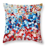 2014 31 Russian Flag Throw Pillow