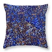 2014 32 Starry Shema Throw Pillow