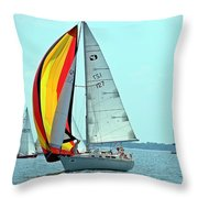 Anemone And Defiant Throw Pillow