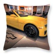 2014 Camaro Convertible Throw Pillow