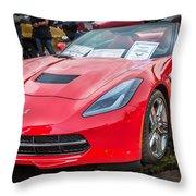 2014 Chevrolet Corvette C7  Throw Pillow