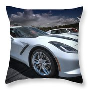 2014 Chevrolet Stingray Throw Pillow