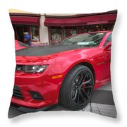 2014 Chevy Camaro Throw Pillow