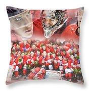 2014 Team Canada Throw Pillow