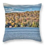 201410020-036d1 Autumn Forest North Shore Hdr1 2x3 Throw Pillow