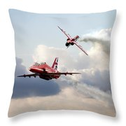 2015 Red Arrows Pair Throw Pillow