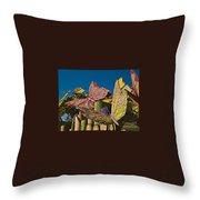 2015 Rose Parade Float Of Butterflies 15rp045 Throw Pillow