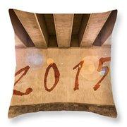 2015 Throw Pillow