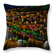 204 Rainbow Lane - The American Dream Throw Pillow