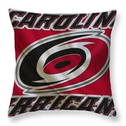 Carolina Hurricanes Throw Pillow