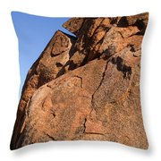 Devils Marbles  Karlu Karlu Throw Pillow