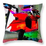 Michael Jackson Throw Pillow by Marvin Blaine