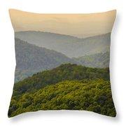 Scenery Around Lake Jocasse Gorge Throw Pillow
