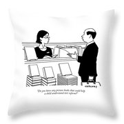 Do You Have Any Picture Books That Could Help Throw Pillow