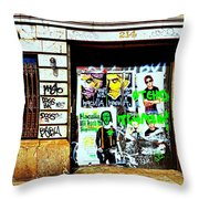 214 Throw Pillow