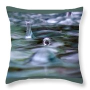 Australia - Cyclonic Raindrop Throw Pillow