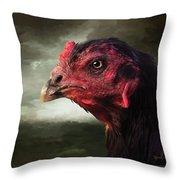 22. Game Hen Throw Pillow