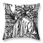 John Wycliffe (1320?-1384) Throw Pillow
