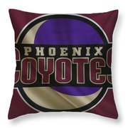 Phoenix Coyotes Throw Pillow