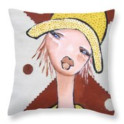 Pikotine Art Throw Pillow