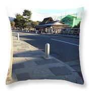 Kyoto Japan Throw Pillow