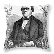 Brigham Young (1801-1877) Throw Pillow