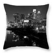 23 Th Street Bridge Philadelphia Throw Pillow by Louis Dallara