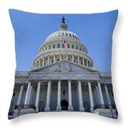 Us Capitol Building Throw Pillow