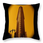 23rd Street And Broadway Throw Pillow
