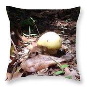 Australia - One Bush Mushroom Throw Pillow