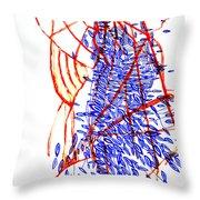 Dinka Lady - South Sudan Throw Pillow