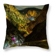 244 Steps Above Throw Pillow