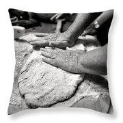 Fine Art People Throw Pillow