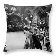 Rudolph Valentino Throw Pillow by Granger
