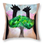25. Suzy Scheinberg, Artist, 2015 Throw Pillow