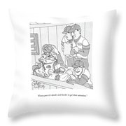 Every Year It's Harder And Harder To Get Throw Pillow