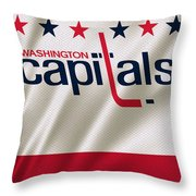 Washington Capitals Throw Pillow