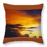 Sky Scape Throw Pillow