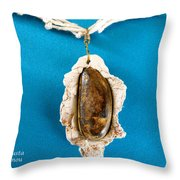 Aphrodite Gamelioi Necklace Throw Pillow