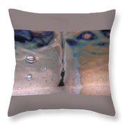 Australia - Underwater Air Bubbles Throw Pillow