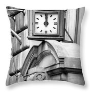 26 Broadway B And W Throw Pillow