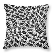 Canary Wharf London Throw Pillow