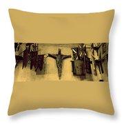 Church Jesus  Throw Pillow