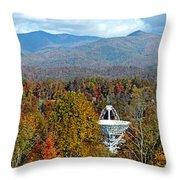 26 East And The Blueridge Panoramic Throw Pillow