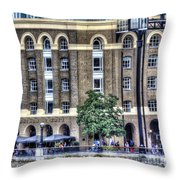Hays Galleria London Throw Pillow