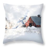 Idaho Falls Throw Pillow