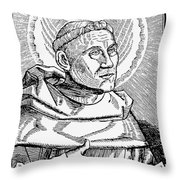 Martin Luther (1483-1546) Throw Pillow