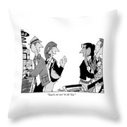 You're On Our 'to Do' List Throw Pillow