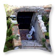 Views Of Dubrovnik Croatia Throw Pillow