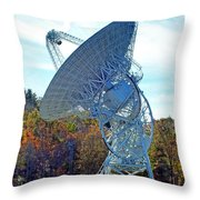 26 West Antenna At Pari Throw Pillow